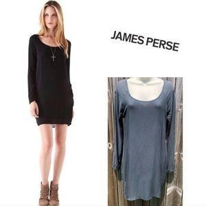 James Perse Grey Dress S 1